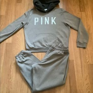 Victoria's Secret Pink 2 Pc hoodie and pants